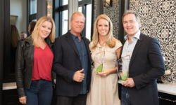 Sherri Holmes, Mike Holmes with Sue and Doug Wastell