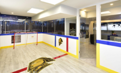 London-Knights-themed Dream Home hockey rink